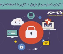 محدود کردن ورود کاربران به مدیریت سایت