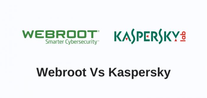 webroot vs kaspersky